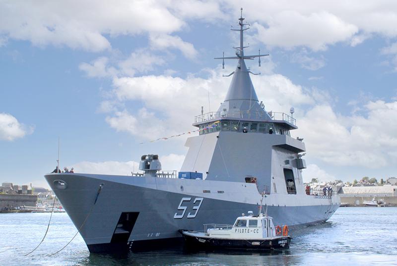 CAE GROUPE équipe les patrouilleurs de la marine argentine