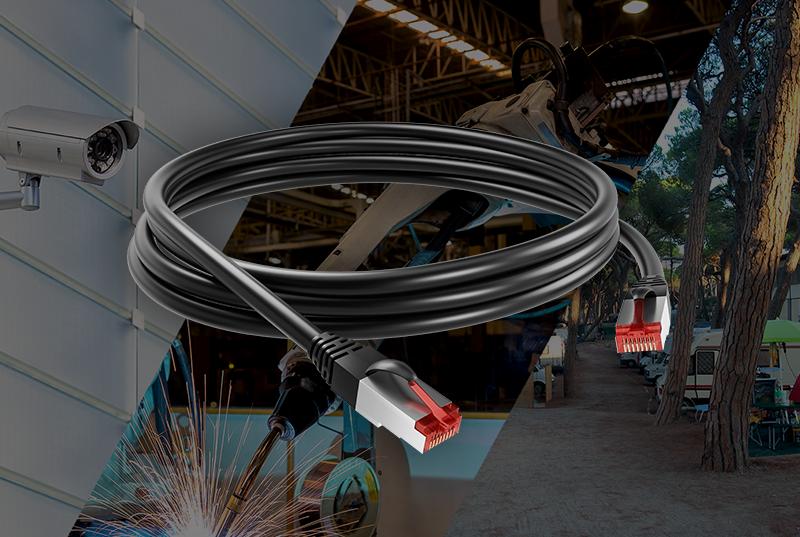 Des cordons polyuréthane RJ45 qui s'adaptent à vos besoins, même les plus exigeants Nouveauté AXINDUS
