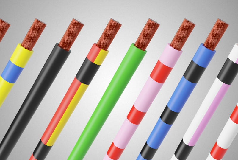 Comprendre le code couleur DIN 47100
