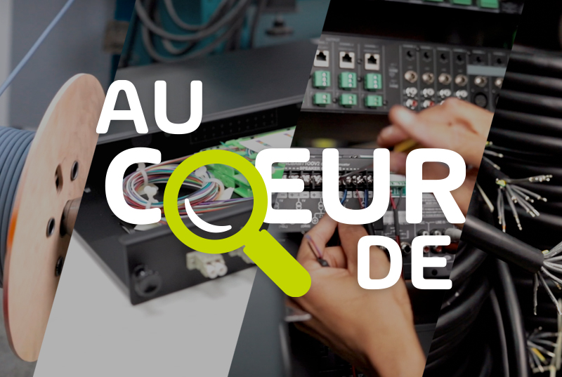#AuCoeurDe : L'atelier de production