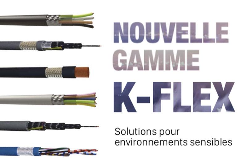 Nouvelle gamme K-FLEX : Solution pour environnements sensibles