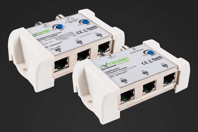 Boostez vos signaux TV avec les nouveaux amplis TV RJ45 d'interieur