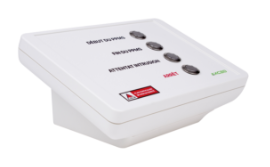 Boitier de commande des alertes équipé d'une interface