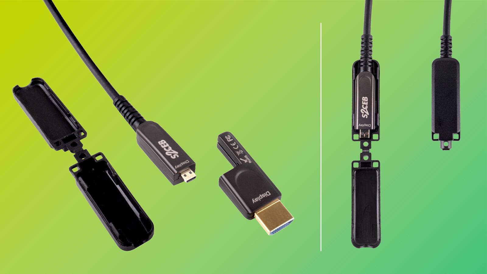 Embouts HDMI détachables