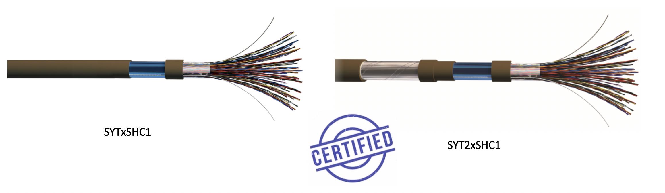 Câble SYT et câble SYT2 certifié LSZH