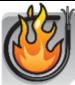 câble non-propagateur de la flamme