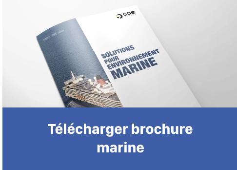 Téléchargez notre brochure Marine