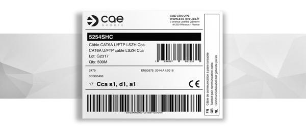 câble conforme réglementation RPC