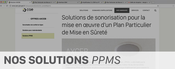 Solutions PPMS
